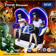 Amusement park Amusement ride stand virtual reality platform 9d virtual reality 9d cinema simulator with roller coaster rides