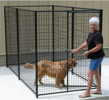 wholesale backyard outdoor large welded wire mesh dog run kennel