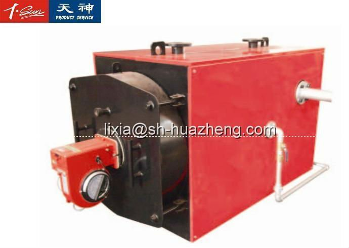 750KW Automatic low pressure gas water heater