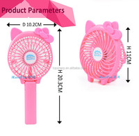 rechargeable 18650 lithium battery mini usb fan with led indicator