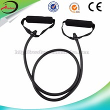 2015 exercise with resistance bands exercise latex jumping bungee loop adjustable tubing