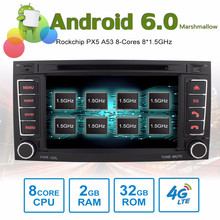 8 core Android6.0 car stereo DVD with 2GB RAM 32GB ROM support bluetooth music radio SD USB for VW TOUAREG T5 Multivan Transport