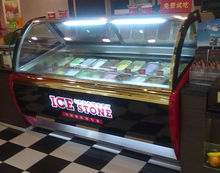 Commercial Gelato showcase/ ice cream display case on sale