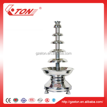 Commercial 6 Tiers Stainless Steel Chocolate Fountain Machine