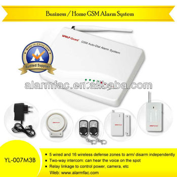 Home Safety Equipments Gsm Modules Remote Jammer Alarm