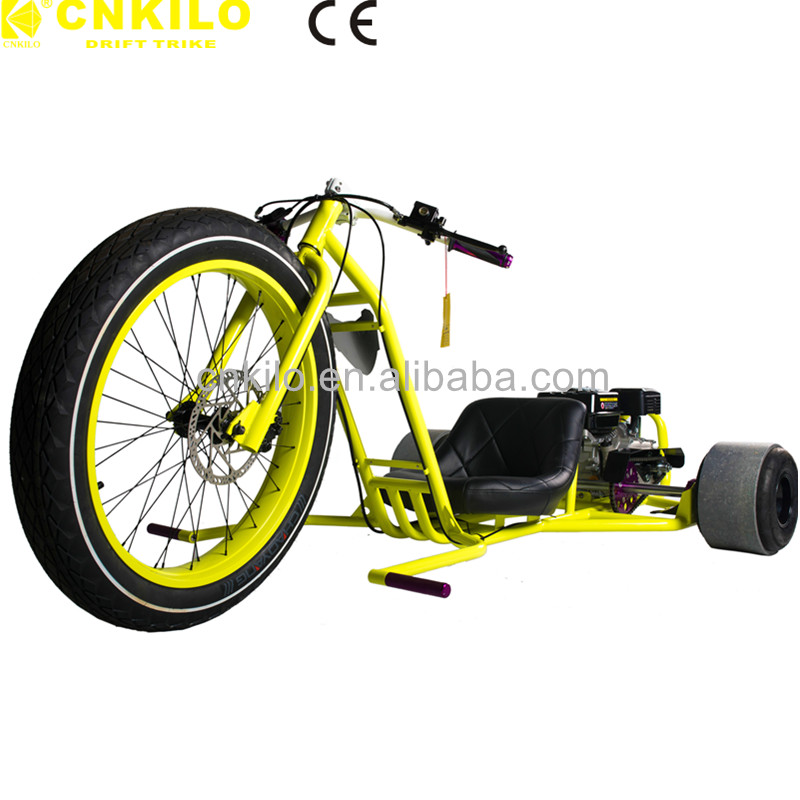 EPA Motor Drift Trike Tricycle Off Road Motorized 3 Fat Wheel Motor Tricycle 26inch 196cc