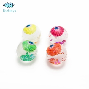 2019 promotional Latest Design Glitter Eyeballs light up water ball