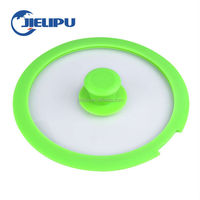 silicone glass cover silicone lid silicone glass lid