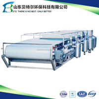 1-170 tons capacity of Belt Vacuum Filter for mine sludge dewatering use