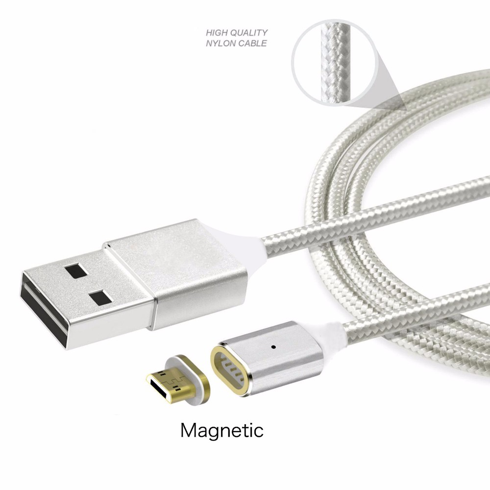 2017 New Arrival Fast Charging Magnetic Cable,Popular Braided Usb Charging Cable Magnetic Adapter For Iphone/Andriod /Type C