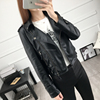 comfortable black leather jackets for women