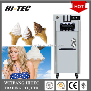 Hot Selling 2017 New Design Cheap Price Intelligent Stand Type Soft Ice Cream Machine CKX-200