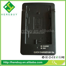 High Quality Camera Battery Charger for Nikon EN-EL3e EL3 EL3a MH-18 MH-18A MH18 MH18A D200 D300 D50 D70 D700 D80, D90