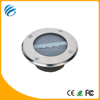outdoor recessed floor IP67 solar rgb led underground lights