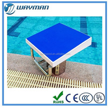 olympic swimming pool starting blocks / starting block swimming