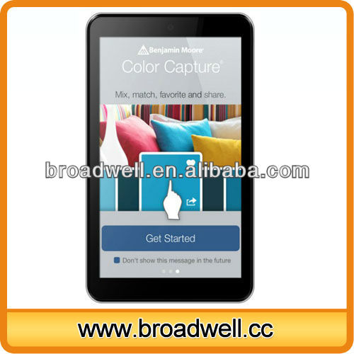 VIA8880 Cortex-A9 1.5GHz Dual Core 7 inch android 4.0 mid tablet games download