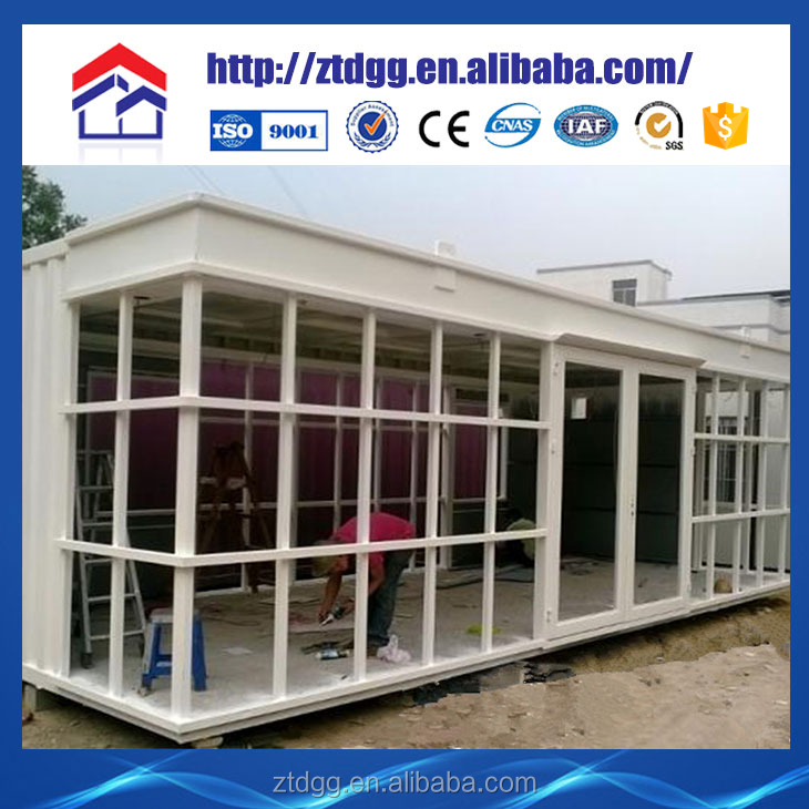 Container house with 6 inch galvanized steel flexible conduit