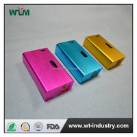 cnc machining parts Colorful aluminum shell