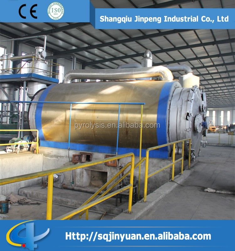 Waste Tyre Recycling Production Line for Fuel Oil