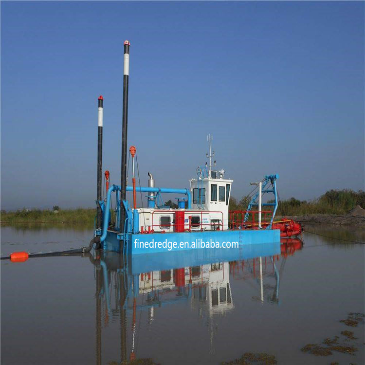 14 inch hydraulic sand dredging machine for coastline protection