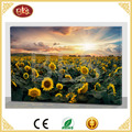 hot selling led canvas painting with sunflower design for home wall decor