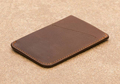 pu leather businessman card holder card sleeve