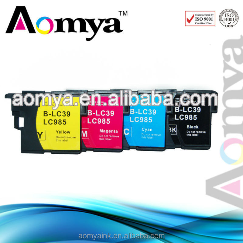 Aomya Brand 100% tested compatable ink cartridges for brother lc39
