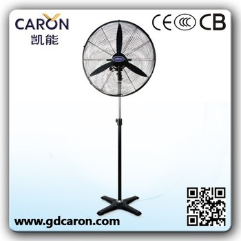 metal pedestal fan /ac industrial stand fan cheap industrial fan