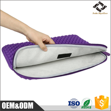 Hot Sales Shockproof Neoprene Laptop Case Laptop sleeve with velvet lining