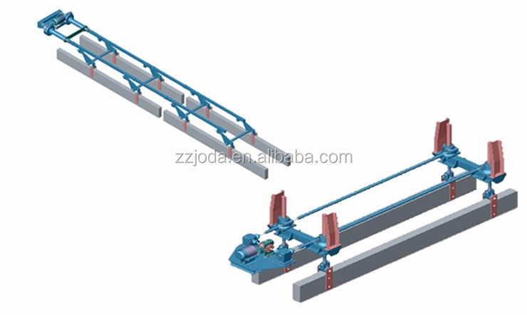 Joda Busbar Jacking Mechanism Busbar Lifting Gear Machinery for Aluminium Smelter