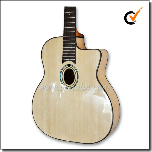 D Hole or Oval Hole Gypsy Jazz Guitar (AGJ400)