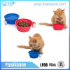 Colorful High Quality Silicone Portable Drinking Bowl For Dogs