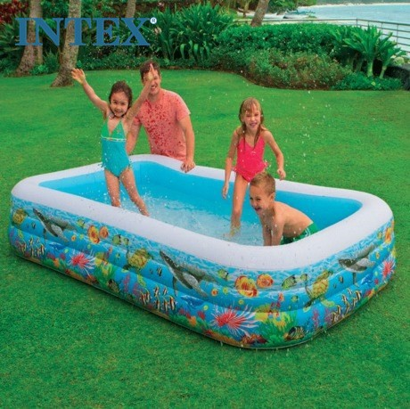 Intex Swim Center Tropical Reef Family Pool