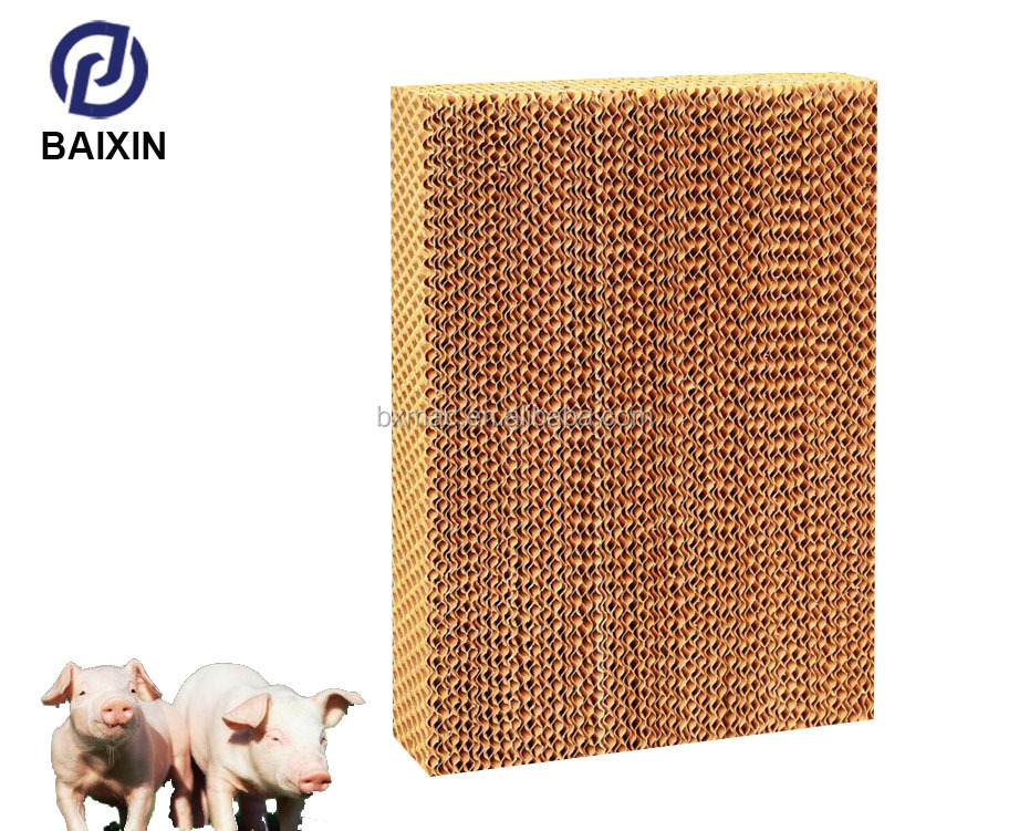 Goldenest Evaporative Cooling Pad For Poultry Farm Water Cooler Pad