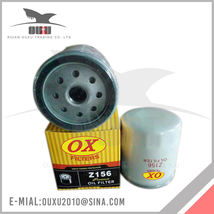 Made In China OEM Cheap Quality-Assured Wholesale Oil Filter for Z156