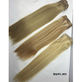 Wholesale Mongolian virgin cuticle intact Hair invisible pu skin Weft Extension