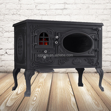 Hot Wood Burning Cook Stove Cast Iron Stove with Oven