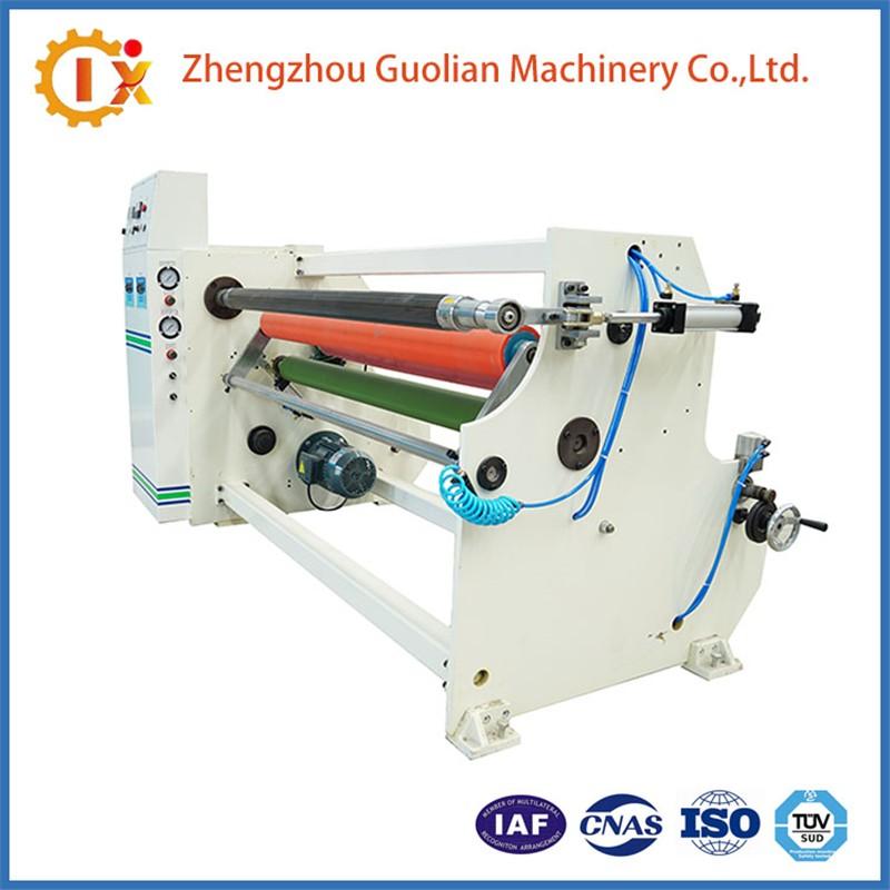 Double Side Tape Rolling Machine Stretch Film Rewinding Machine