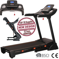 GS-842E New Design Indoor Motorized Treadmill fitness for Home Use