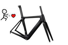China factory cheap bike frame Carbon Fiber Road Race Bicycle Frame