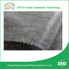 Double dotted Non woven necktie stitches nonwoven interlining fabric