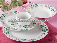 20pcs porcelain dinner set , american table service style