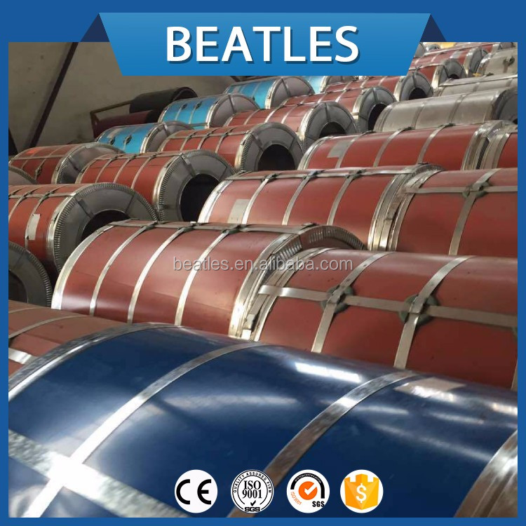 Prime prepainted color coated galvanized ppgi steel sheet in coil