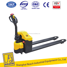 CHINA hot sale AC semi mini electric pallet truck