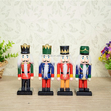 Wooden 15cm Hand painted The wholesale cheap promotional gift wooden Nutcracker