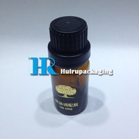 10ml Amber E-juice essential oil bottle with tamper evident cap wholesale stock available