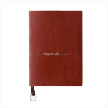 China Suppliers Prefect Binding Vintage Leather Notebook With Calendar Weekly Planner