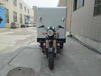 Three Wheel Cargo Truck / Cargo Tricycle With Closed Box OEM Manufacture