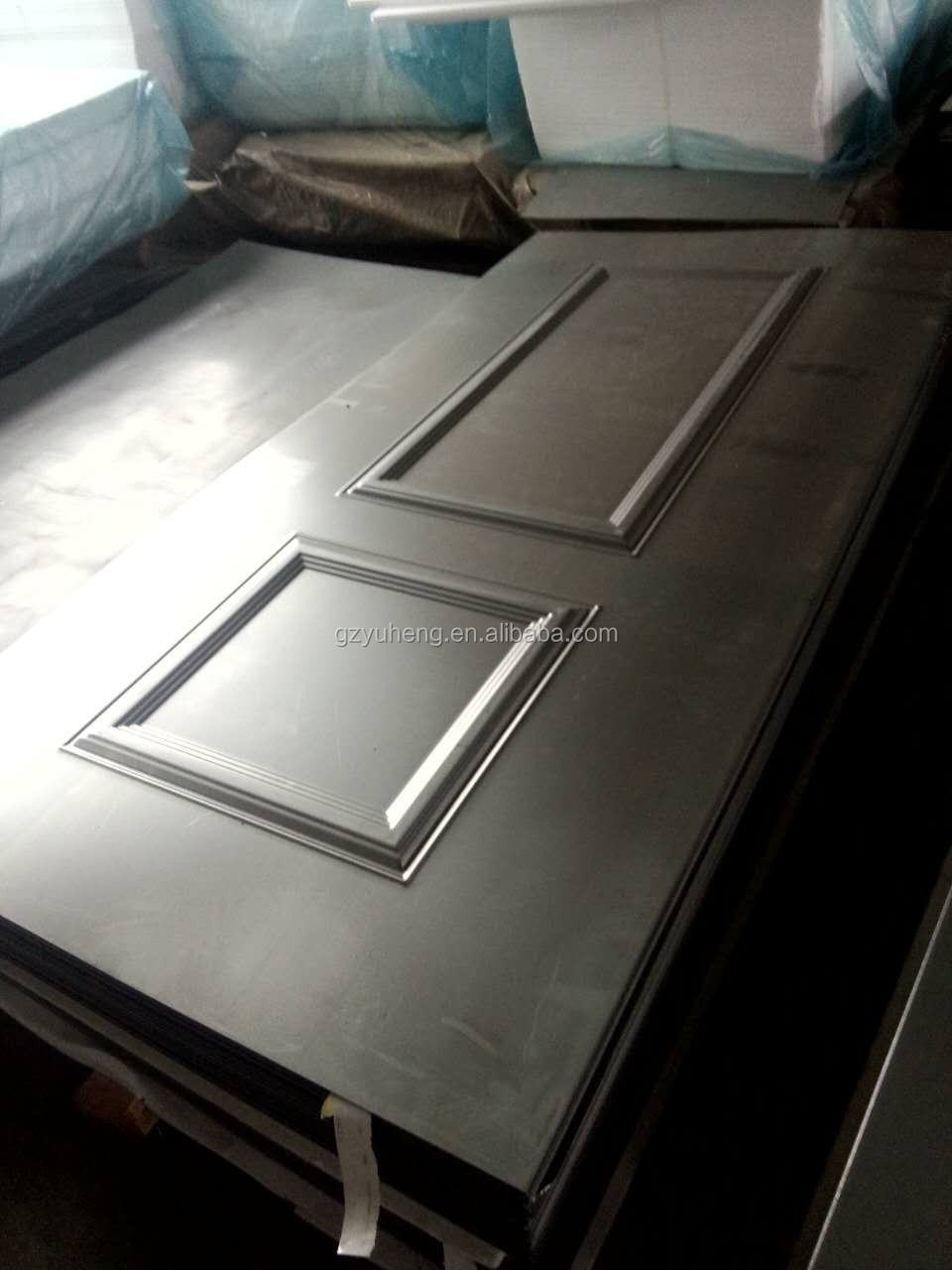 galvanized iron door embossed metal factory door skin supplier