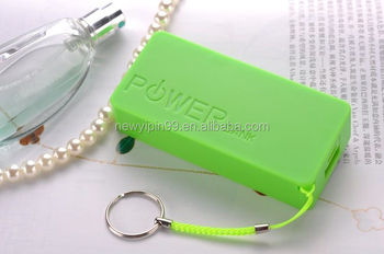 hot sale mini led portable phone charger mobile battery portable power source